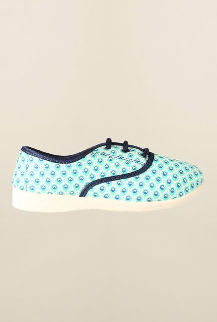 People Turquoise Casual Sneakers