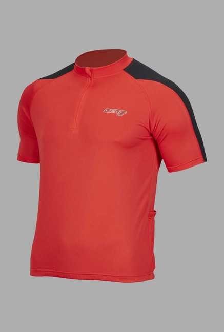 Berg Red Cycling T Shirt
