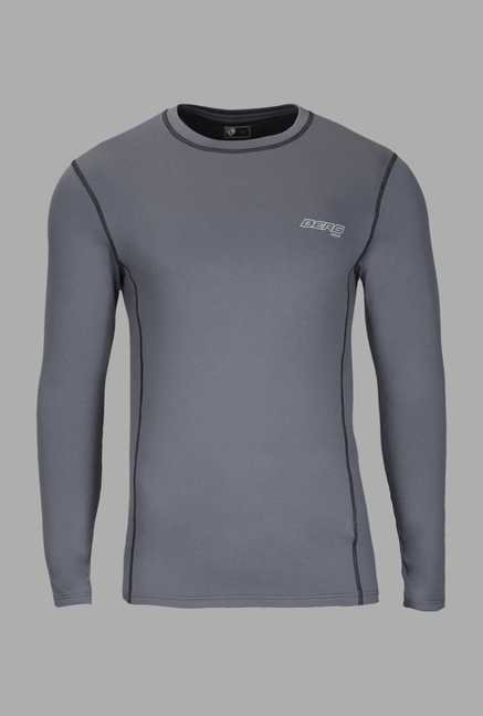 Berg Grey Solid Cycling T Shirt