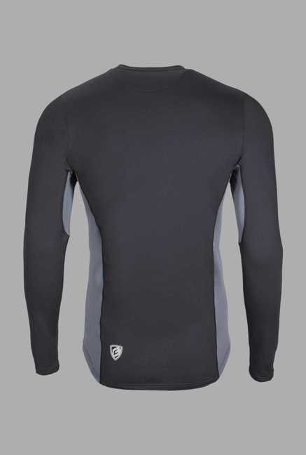 Berg Black Solid Cycling T Shirt