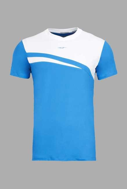 Team Quest Blue Football T Shirt