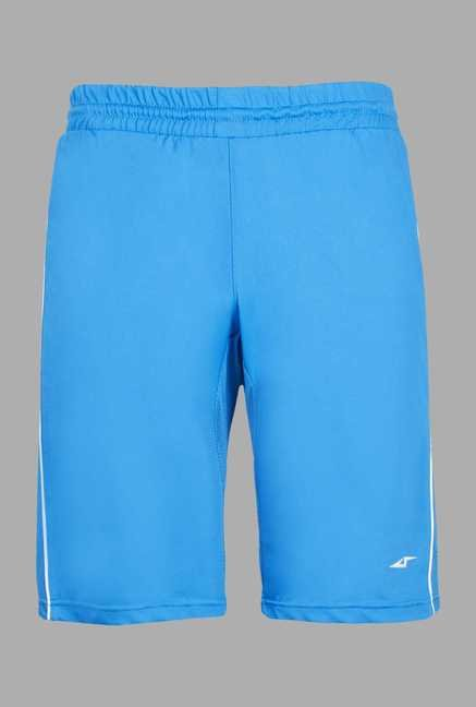 Team Quest Blue Solid Football Shorts