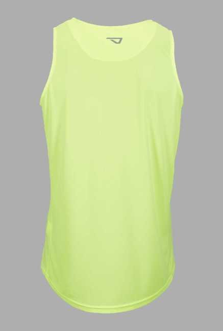 Outpace Lime Running Singlet