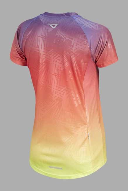 Outpace Pink Running T Shirt