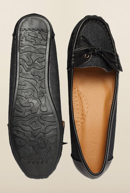 Allen Solly Black Casual Moccasins
