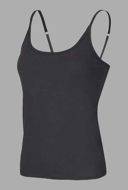 Doone Black Training Singlet