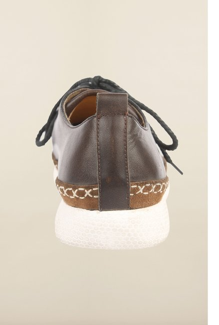 Cobblerz Brown Leather Lace Up Shoes