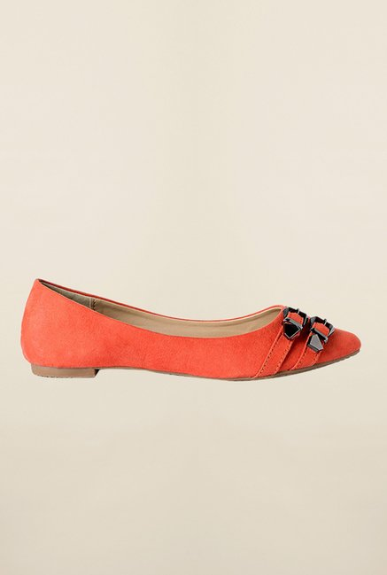 Allen Solly Orange Casual Ballerinas