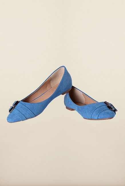 Allen Solly Blue Casual Ballerinas