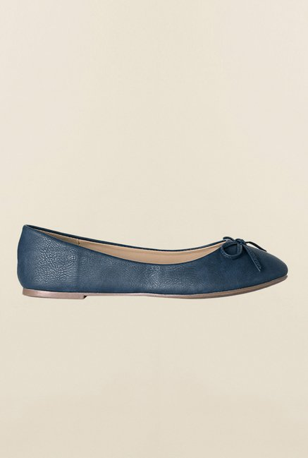 Allen Solly Navy Casual Ballerinas