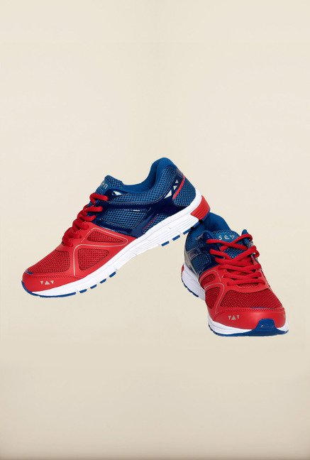 Seven Red & Nautical Blue Running Shoes
