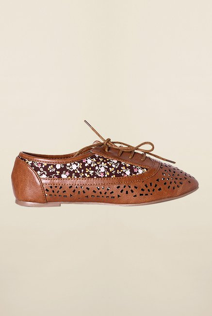 Allen Solly Brown Casual Shoes