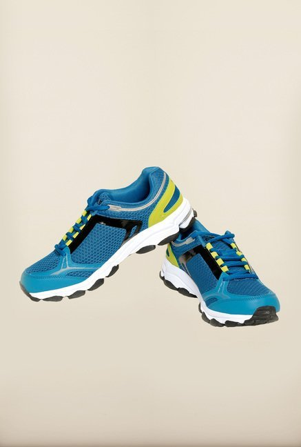 Seven Blue & Green Running Shoes