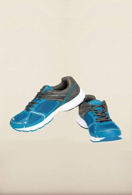 Seven Blue & Grey Running Shoes