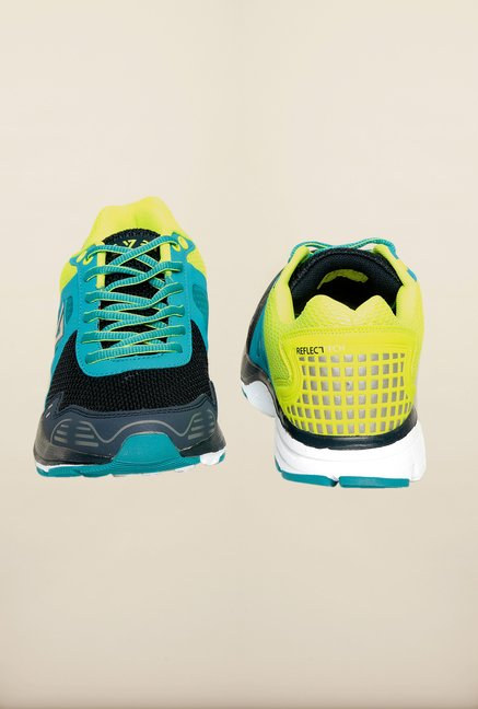 Seven Patriot Blue & Lime Running Shoes