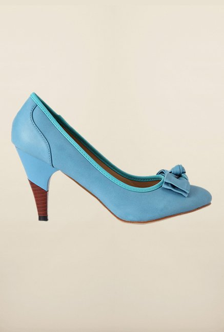 Allen Solly Blue Kitten Heel Shoes