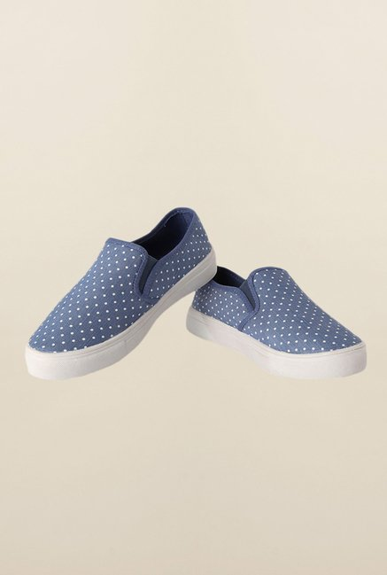 People Blue Plimsoll Shoes
