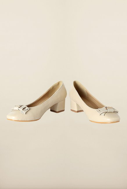 Allen Solly Beige Casual Pump Shoes
