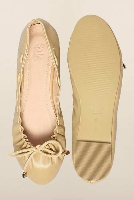 Allen Solly Beige Casual Ballerinas