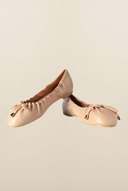 Allen Solly Beige Causal Ballerinas