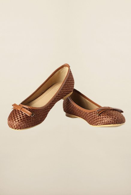 Allen Solly Brown Flat Casual Ballerinas