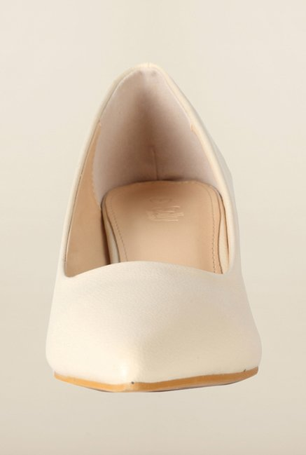 Allen Solly Cream Casual Shoes