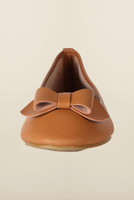 Allen Solly Brown Ballerina Shoes