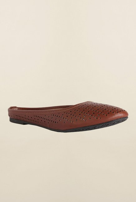 Allen Solly Brown Mule Casual Shoes