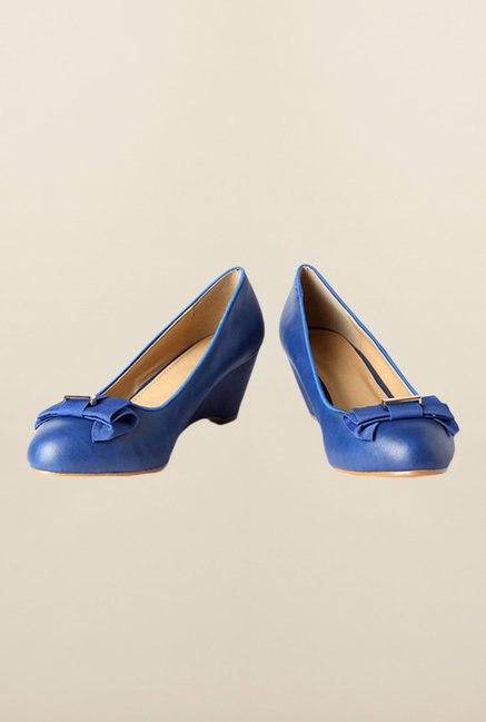 Van Heusen Blue Wedge Shoes