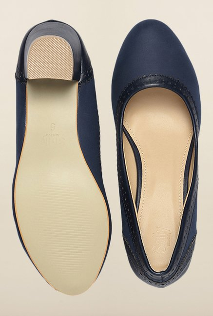 Allen Solly Navy Pump Shoes