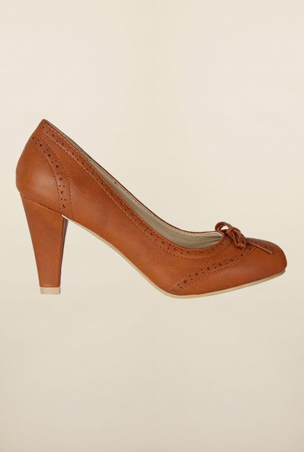 Allen Solly Brown Casual Pumps