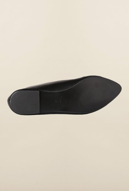 Allen Solly Black Flat Ballerinas