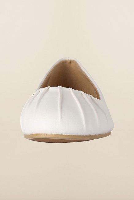 Allen Solly White Casual Ballerinas