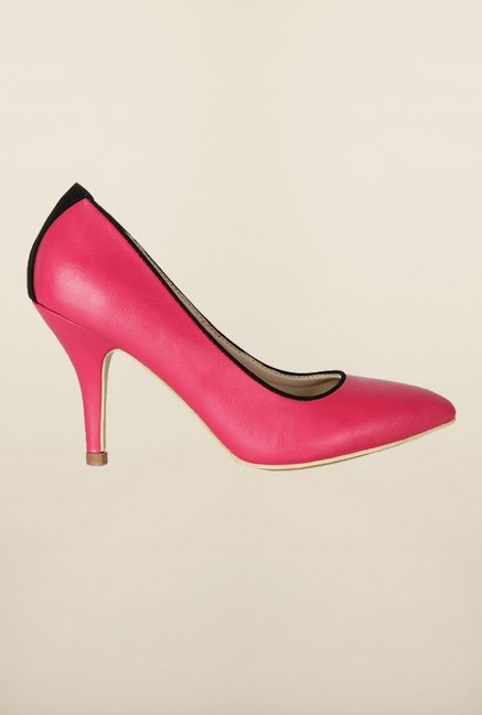 Allen Solly Pink Stiletto Shoes