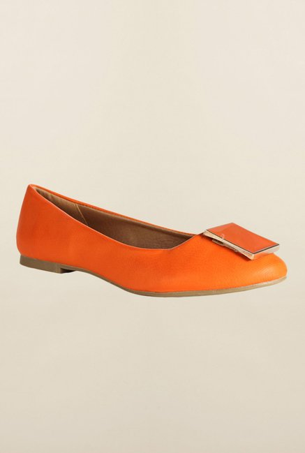 Van Heusen Orange Casual Ballerinas