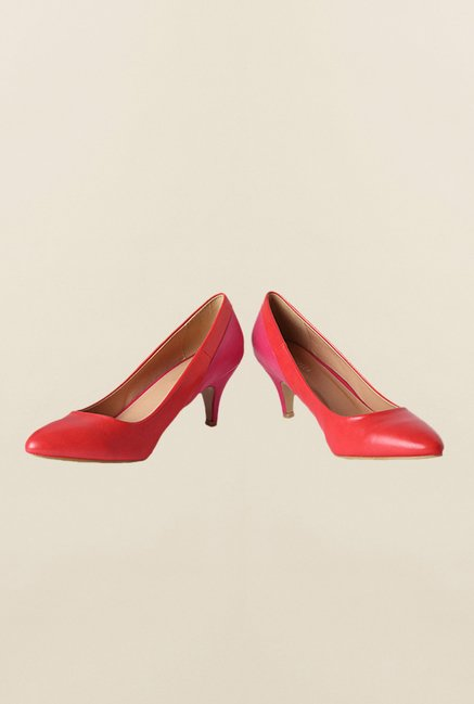 Van Heusen Red & Pink Pump Shoes
