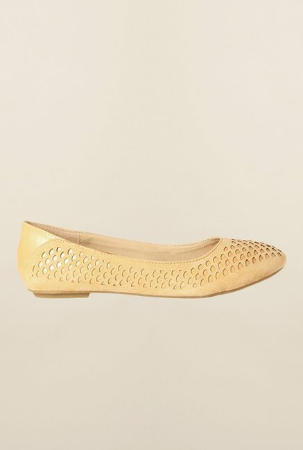 Allen Solly Yellow Ballerina Shoes