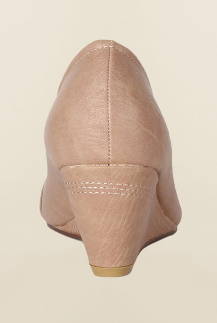 Allen Solly Beige Wedge Shoes