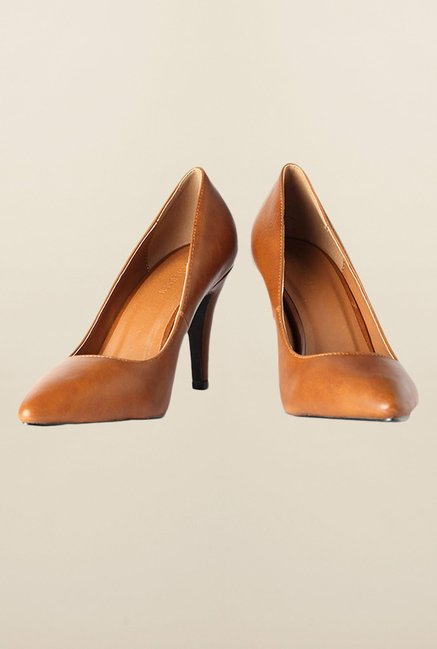 Van Heusen Brown Stiletto Shoes
