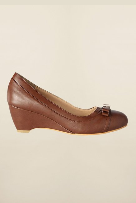 Allen Solly Brown Wedges Shoes