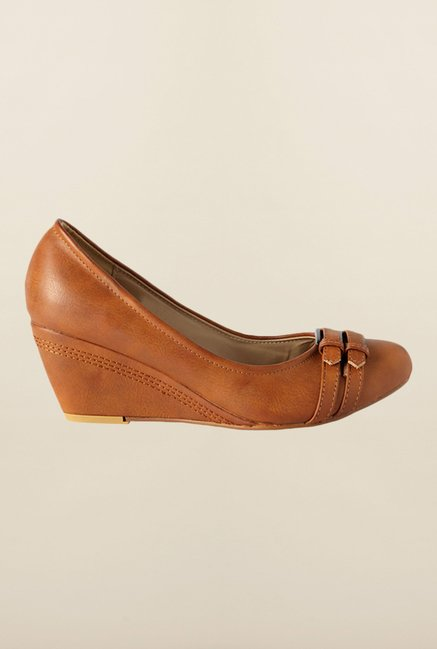 Allen Solly Brown Wedge Shoes