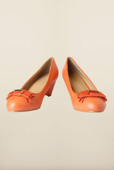 Van Heusen Orange Casual Wedges