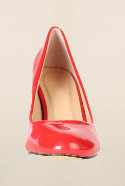 Van Heusen Red Stiletto Heel Shoes