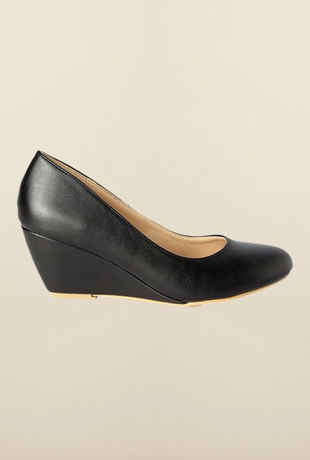 Allen Solly Black Pump Wedges