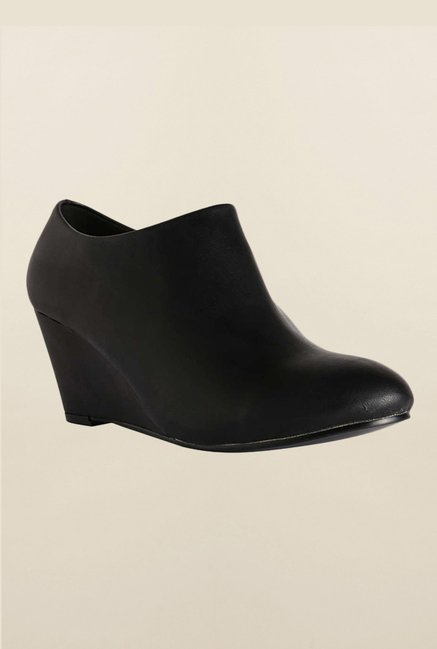 Allen Solly Black Wedge Shoes