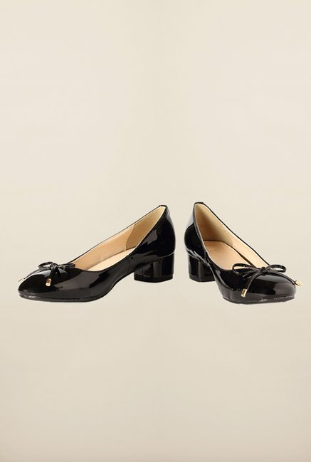 Van Heusen Black Pump Shoes