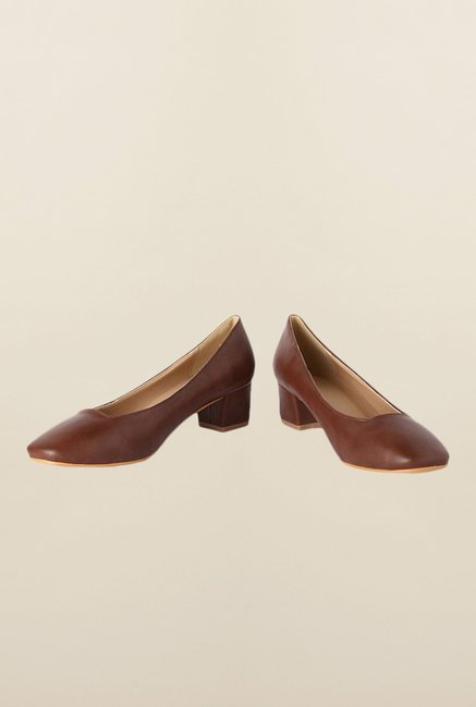 Allen Solly Brown Pump Shoes