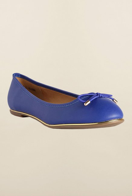 Allen Solly Blue Flat Casual Ballerinas