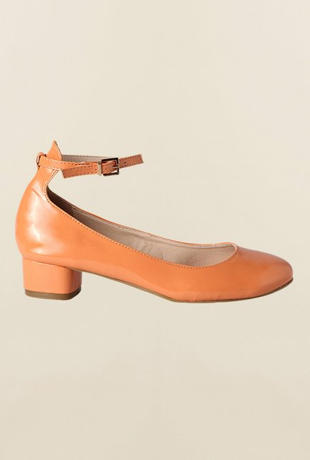 Van Heusen Orange Ankle Strap Shoes