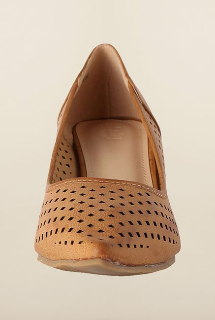 Allen Solly Brown Stiletto Shoes